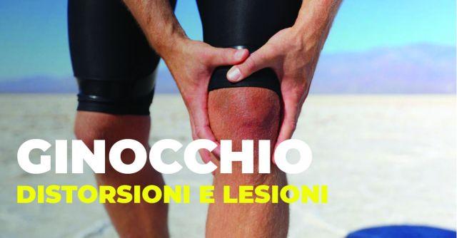 Distorsione di ginocchio e lesioni dei menischi