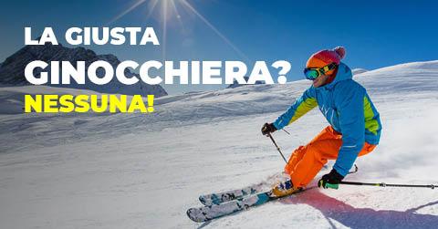 La ginocchiera giusta per sciare? Nessuna!